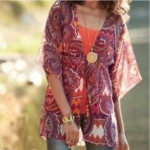 Cabi Epic Paisley Kimono